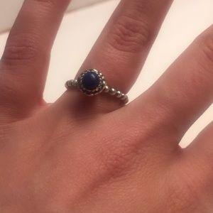 Authentic Pandora birthstone ring
